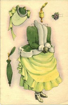 """Nellie"" by Helen Page | Gabi's Paper Dolls"