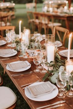 Weddings wondrous idea reference 2027076827 - Eye pleasing wedding help. In need another romantic advice, check the pin image right now. Farm Table Wedding, Wedding Table Garland, Barn Wedding Decorations, Wedding Dinner, Reception Table, Rustic Wedding, Wedding Table Runners, Wedding Simple, Wedding Ideas