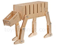 Wooden AT-AT Power Box                             12″ high, 17″ long and 6″ wide.      So getting for my husband for Christmas.