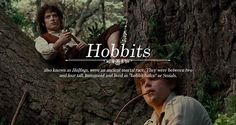 Races of Middle-earth: Hobbits