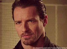 Gif of the Peter Hale eye roll everybody. Teen Wolf Peter, Teen Wolf Cast, Ian Bohen, Peter Hale, Novel Characters, Vampires And Werewolves, Wolf Love, Eye Roll, Man Crush