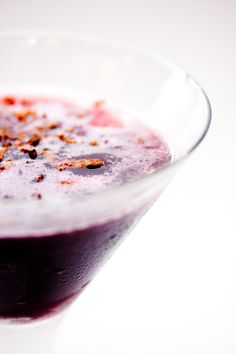 Port Martini made with Kettle Valley Winery Caboose Port | saucisserestaurant.com