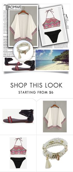 """""""ROMWE VI-4"""" by melisa-hasic ❤ liked on Polyvore featuring Balmain and Whiteley"""