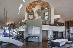 Pharrell Williams' incredible contemporary designed South Beach Penthouse