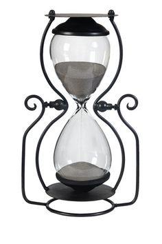 Vintage Decor on a Chic Budget  - Sand Hour Glass- 45 min