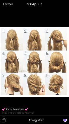 hair updos 26 Hairstyles for Bridesmaids of All Hair Types Braided Updo Tutorial, Prom Hair Tutorial, Wedding Updo Tutorial, Bridesmaid Hair Tutorial, Cute Bun Hairstyles, Crown Hairstyles, Wedding Hairstyles, Nurse Hairstyles, Bridesmaid Hairstyles