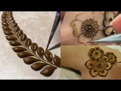 Learn how to make different mehndi design pattern //for beginners Indian Mehndi Designs, Stylish Mehndi Designs, Mehndi Designs 2018, Mehndi Design Photos, Wedding Mehndi Designs, Henna Designs Easy, Beautiful Henna Designs, Tatto Designs, Mehndi Images