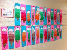 2nd grade art | 2nd Grade Projects | Polka Dotted Canvas