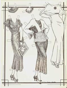IRENE THE FLIRTY '30s by Brenda Sneathen in OPDAG Issue 21 <><> 2 of 2