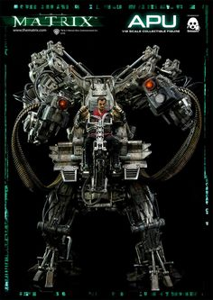 The Matrix APU (Armored Personnel Unit) Collectible Figure em Escala 1:12