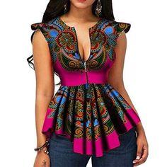 African Print Shirt, African Print Dresses, African Print Fashion, Africa Fashion, Modern African Dresses, Best African Dress Designs, African Design, Tribal Fashion, African Prints