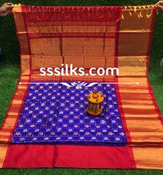 Indian Handloom Sarees and Silks Kuppadam Pattu Sarees, Handloom Saree, Picnic Blanket, Outdoor Blanket, Pure Silk Sarees, Indian, Pure Products, Design