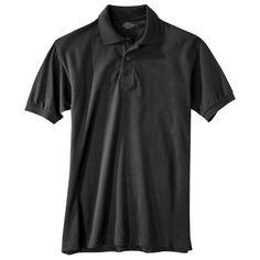 Dickies Young Men's Pique Polo Black 4XL