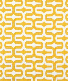 Premier Prints Embrace Corn Yellow Slub Fabric