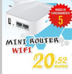 TP-Link Mini #Router Wifi TL-WR710N 150Mbps Hotspot y USB.  http://www.opirata.com/es/tplink-mini-router-wifi-tlwr710n-150mbps-hotspot-p-14717.html