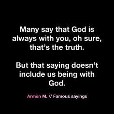 Armen M. // Famous sayings