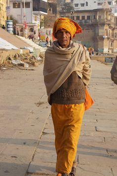 Out for a walk Varanasi
