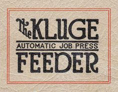The Kluge | Flickr - Photo Sharing!