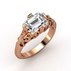 I love it.  I love seeing Emerald Cuts on the side like that. I might do that to my ring one day...