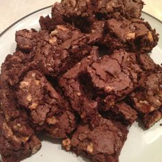 Choc brownies made using a Leith's recipe Brownies, Cooking, Desserts, Recipes, Food, Cake Brownies, Kitchen, Tailgate Desserts, Deserts