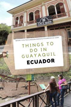 The city of Guayaquil located in the Coastal region of the country is not only the largest city in Ecuador, but also its main port. Stuff To Do, Things To Do, How To Memorize Things, Spanish Speaking Countries, Historical Monuments, Just Dream, Galapagos Islands, Park Homes, South America Travel