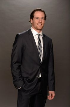 Duncan Keith poses for a portrait during the 2014 NHL Awards.
