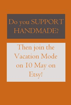 Do you support handmade?  Then sign in the silent protest: http://www.protesty.com