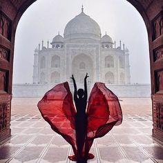 Fantastic Taj Mahal ~ Photograph By @ninelly_ #wowplanet