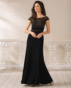 Jade Jasmine J185008 Lace Top Jersey Skirt