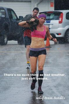 this is how I felt yesterday when it downpoured on me a mile from home!