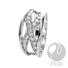 925 fine sterling silver-- micron natural rhodium plating-- Set with AAA white cubic zirconia Valentine Day Gift 2015 Sterling Silver Jewelry, Silver Rings, Luxury Jewelry, Valentine Day Gifts, Fashion Jewelry, Jewelry Making, Wedding Rings, Pendants, Engagement Rings