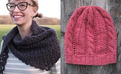 New Favorites: Fancy Tiger's sweet shawl and hat