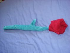 how to make a towel origami rose step by step photo tutorial