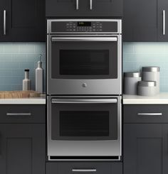 GE Gain™ Series 27 Built-In Double Convection Wall Oven