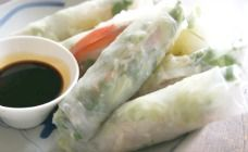 Easy rice paper rolls recipe - Finger food