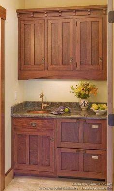 Small Wet Bar Ideas   Found on kitchen-design-ideas.org