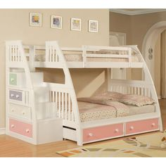 I like this bed. One day when we have more girls that are big enough we might have to invest in this....