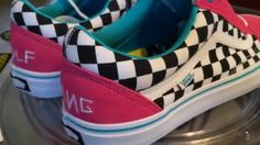 f03386b06f52 Vans Old Skool Pro Skate - (Odd Future - Golf Wang 2015) - Blue