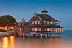 San Diego Pier Cafe at Seaport Village ~ good food, great views