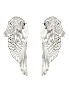 SWAN earrings H = 2 cm. W = 1 cm. Material: 925 silver Feminine softness and masculine strength meet in the swan and that is what Guðbjörg wants to bring out in Svanur the jewellery collection that can both be worn by women and men. Swan Jewelry, Feather Jewelry, Feather Earrings, Sterling Silver Jewelry, 925 Silver, Big Earrings, Jewellery Earrings, Silver Swan, Couple Bracelets
