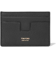 Shop men's wallets at MR PORTER, the men's style destination. Fashion Bags, Mens Fashion, Tom Ford Men, Designer Wallets, Wallets For Women Leather, Small Wallet, Leather Craft, Luxury Branding, Leather Wallet