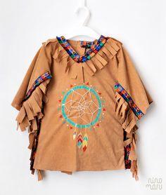 Disfraz DIY niña india by Ninomaru Indian Native Costume