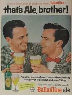 Ballantine Ale ad  Ajax All Purpose Blog: In Print: Vintage Illustration. Photography. Graphics.
