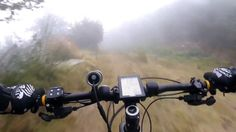 eMTB - Solo Ride Τhrough the Fog