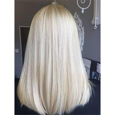 Specifications Brand: LaaVoo Material: 100% real Remy Brazilian Human Hair Hair Color:#1000 White Blonde Hair Type: Straight Weight: 1g/strand| 50g/pack Extensions Type: Nano Ring Hair Extensions, Hot fusion Lifespan: Keep healthy for 2 months to 4 months. Recommendation: We highly recommend you buy 100g-150g of hair to make thick hair. Choose Hair Length Applying for Nano Ring Hair Extensions PS: Recommend go to a salon to apply for the nano ring extensions. If you want to install that by yours Blond Mi-long, Pale Blonde Hair, Bleach Blonde Hair, Blonde Hair Looks, Thick Blonde Highlights, Short Blond Hair, Mid Length Blonde Hair, Super Blonde Hair, Cool Toned Blonde Hair