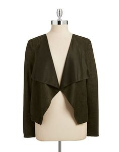 Brands | Blazers & Vests | Faux Suede Blazer | Hudson's Bay