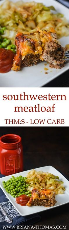 You're not gonna wanna miss this new Southwestern Meatloaf recipe! The topping...I'm in love with the topping. Fried onions and cheddar cheese crisp up and get nice and golden brown in the oven.... Inside, savory southwestern flavor abounds thanks to some easy, convenient (but still healthy!) ingredients. My family really enjoyed it!  THM:S, low carb, gluten free, nut free, low glycemic, Trim Healthy Mama friendly