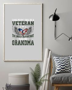 Some People Call Me A Veteran - The Best Grandma - Ash navy wife tattoos, quotes for veterans, gifts for pastor and wife #beachbodycoach #womenempowerment #momboss