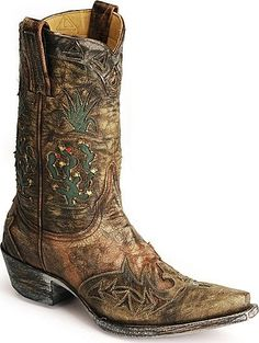 cowgirl boots ...the cactus boot by old gringo #boots #handmade #oldgringo