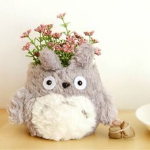 1pcs/totoro Pen Container Kwaii Cartoon Anime Pencil Holder Organizer Storage Office Material School Supplies(China (Mainland))